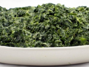 up creamed spinach lightened up creamed spinach a dollop of reduced ...
